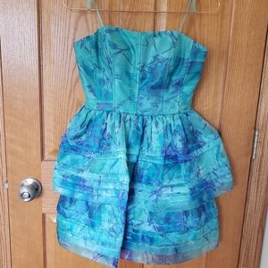 Adrianna Pappell Blue Occasion Dress - 2
